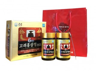 CAO HỒNG SÂM 6 TUỔI KOREAN 6 YEAR RED GINSENG EXTRACT 365 480G