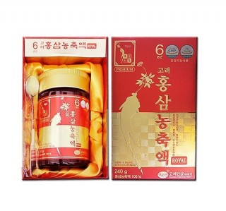 Cao Hồng Sâm KGS Korean Red Ginseng Extract Royal 240g
