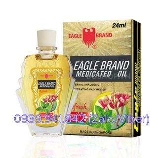 DẦU Ó VÀNG  EAGLE BRAND 24ML SINGAPORE
