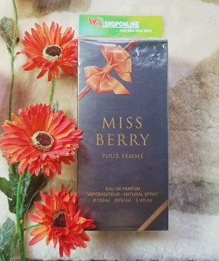 NƯỚC HOA MISS BERRY 100ML
