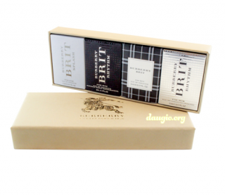 Set 4 Burberry the travel collection for men 5ml